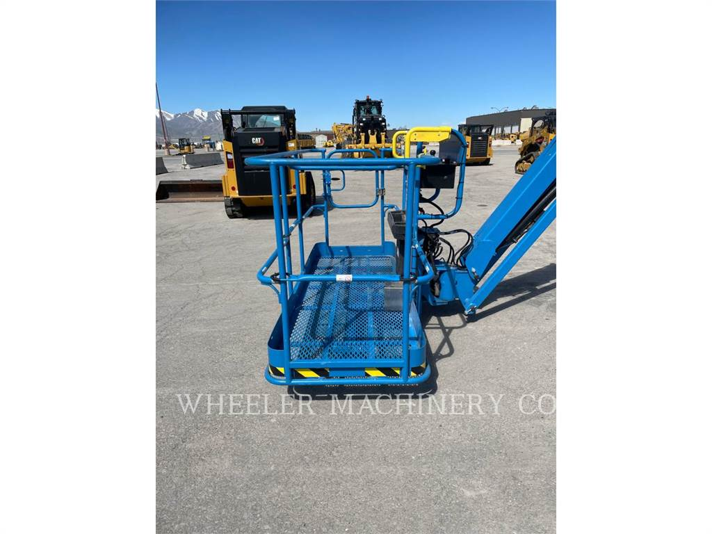 Genie S85XC, Articulated boom lifts, Construction