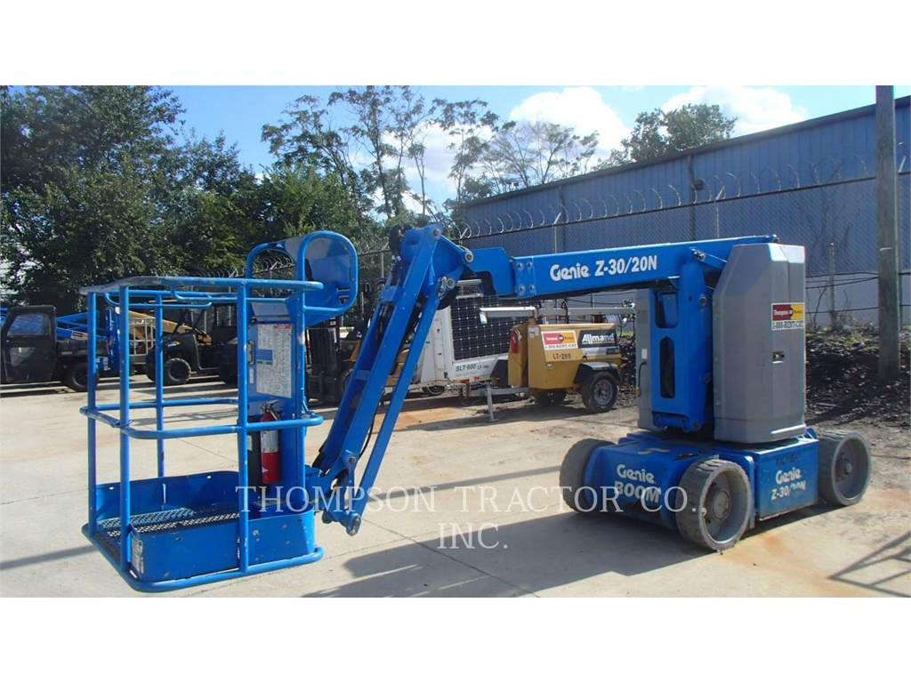 Genie Z 30/20, Articulated boom lifts, Construction