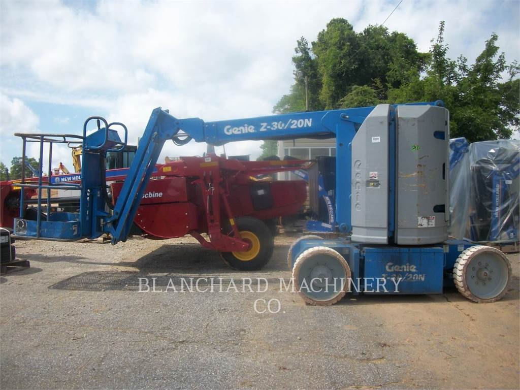 Genie Z30, Articulated boom lifts, Construction