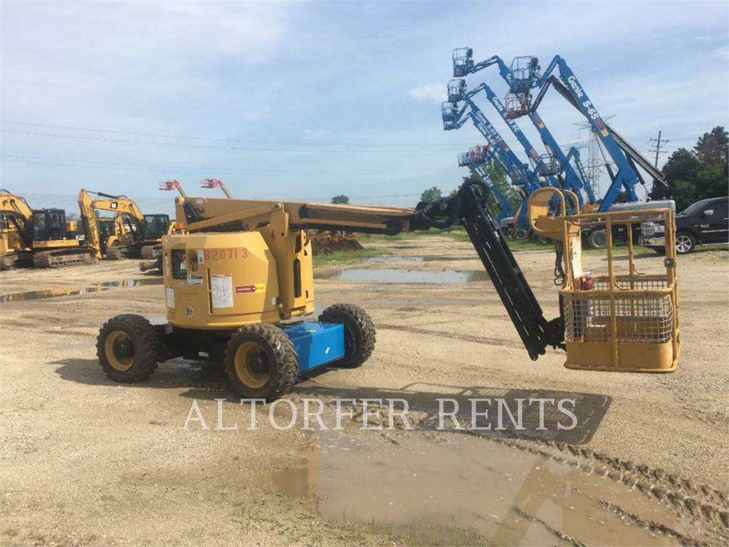 Genie Z34/22, Articulated boom lifts, Construction
