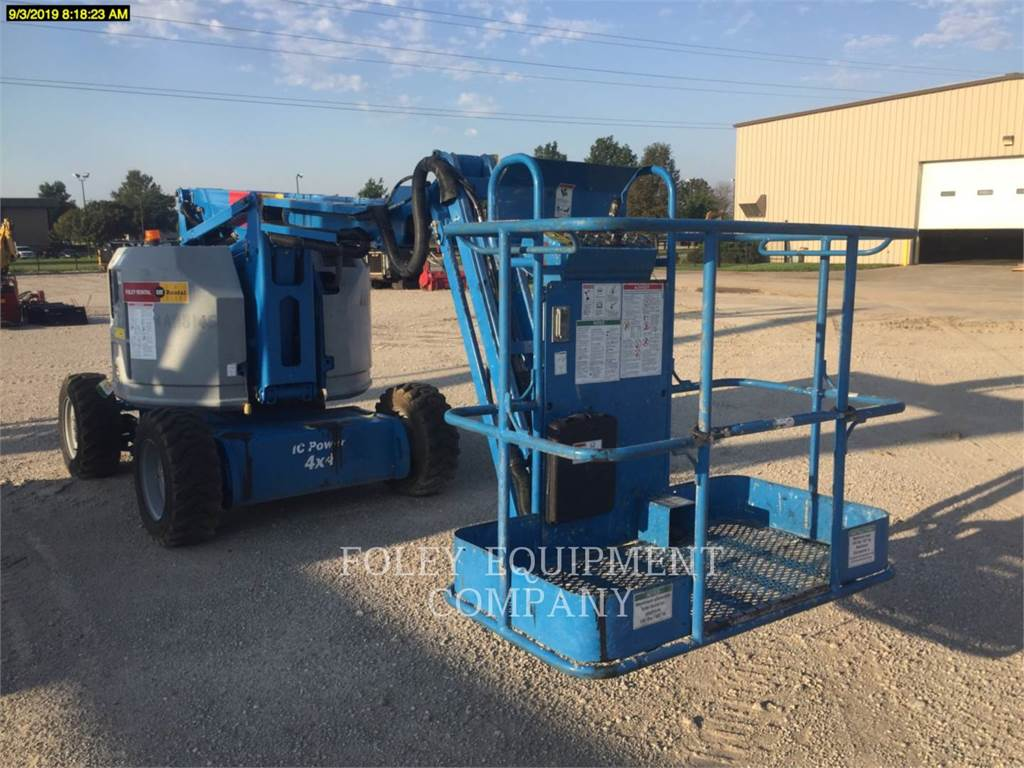 Genie Z34/22G4, Articulated boom lifts, Construction