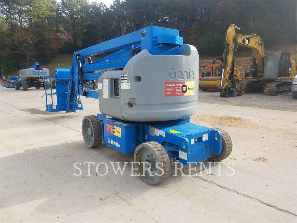 Genie Z40NERJ, Articulated boom lifts, Construction