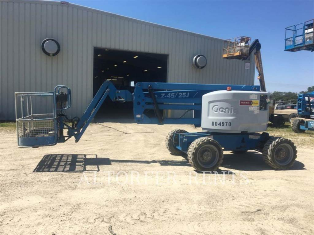 Genie Z45/25, Articulated boom lifts, Construction