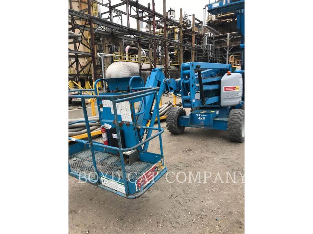 Genie Z45/25J, Gelenkteleskoparbeitsbühnen, Bau-Und Bergbauausrüstung