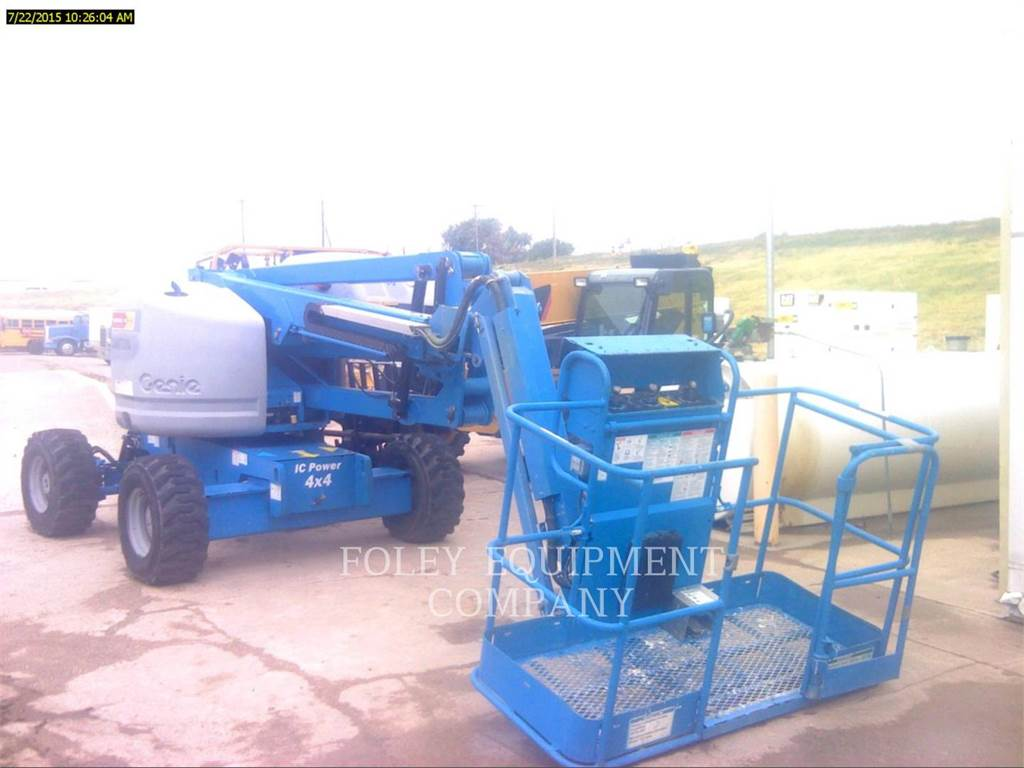Genie Z45/25JD4, Articulated boom lifts, Construction