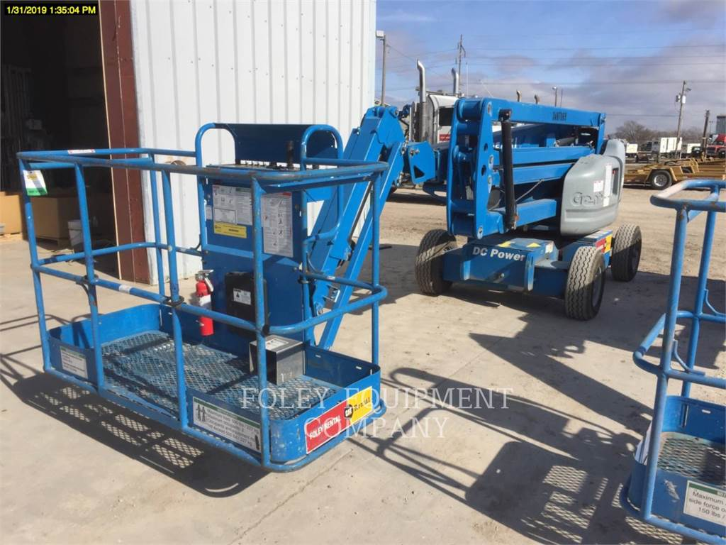 Genie Z45/25JE, Articulated boom lifts, Construction