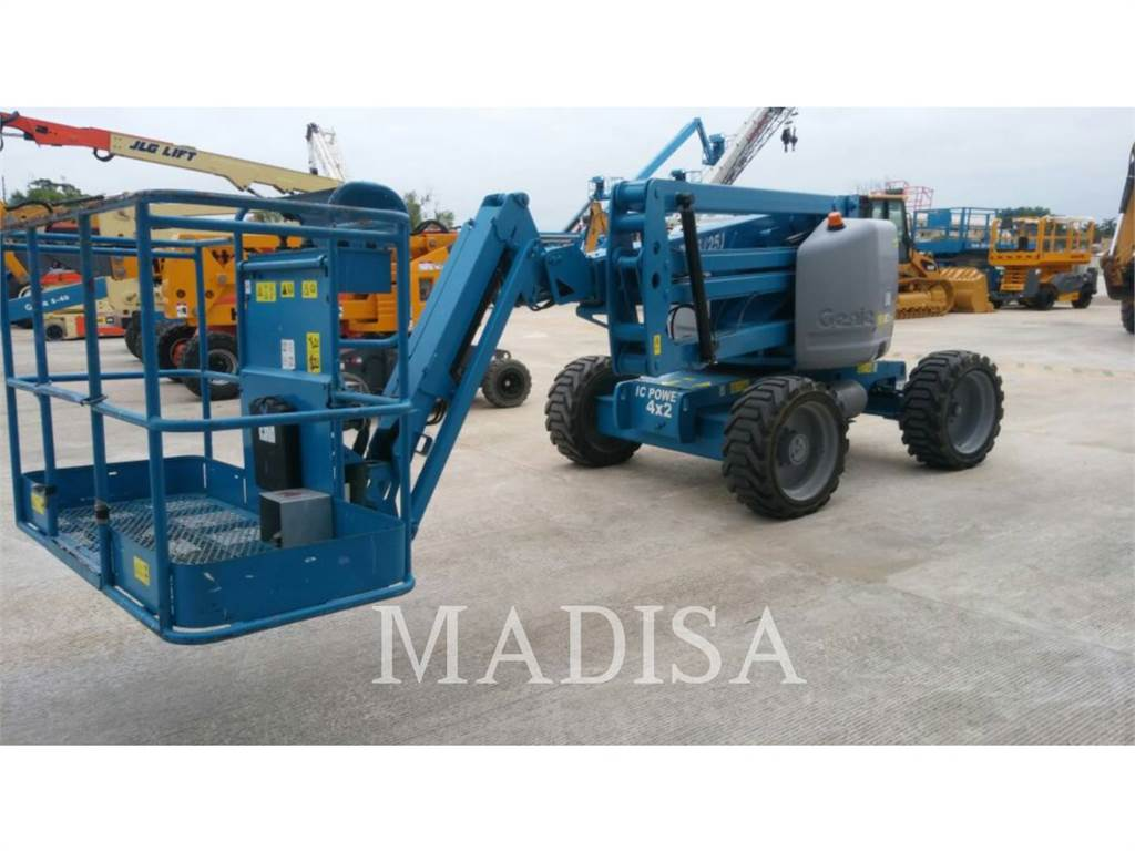 Genie Z45/25JRT, Articulated boom lifts, Construction