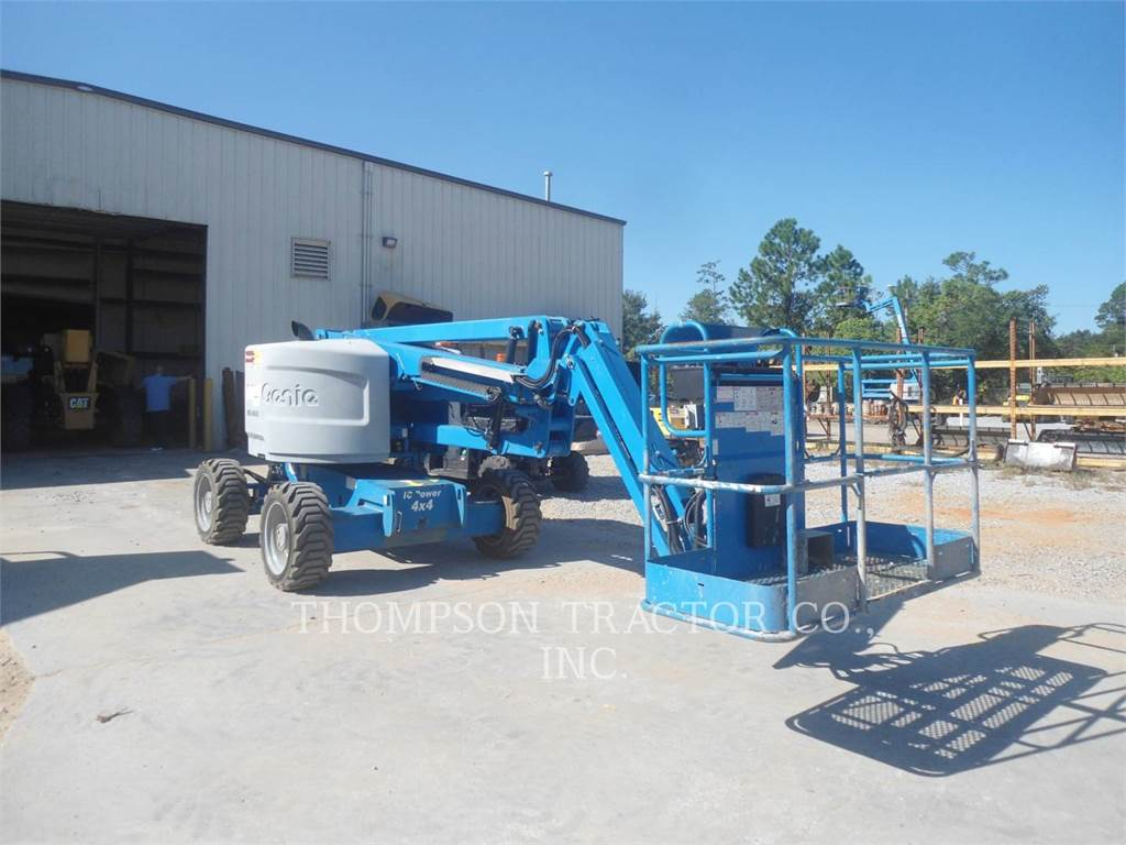 Genie Z4525, Articulated boom lifts, Construction