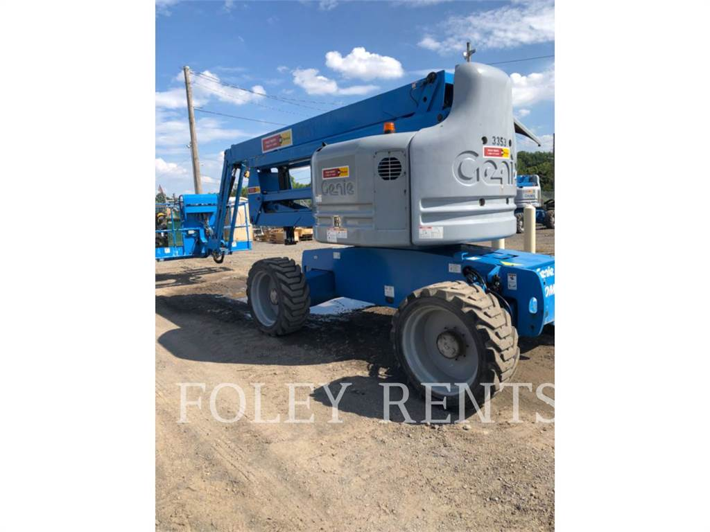 Genie Z60/34, Articulated boom lifts, Construction