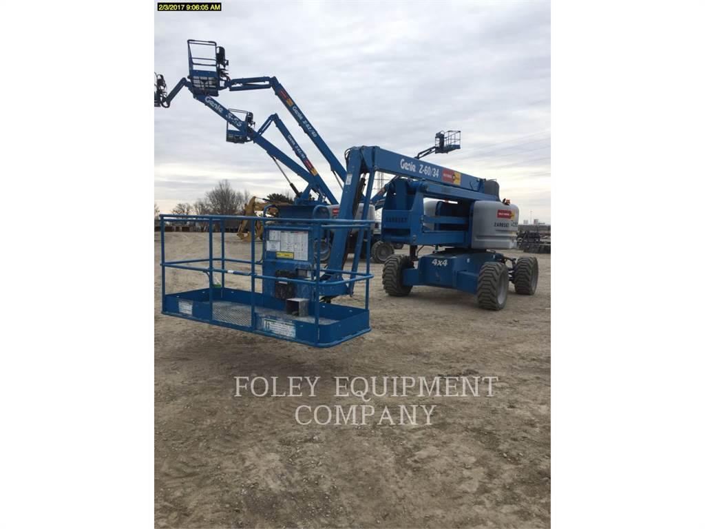 Genie Z60/34D4, Articulated boom lifts, Construction