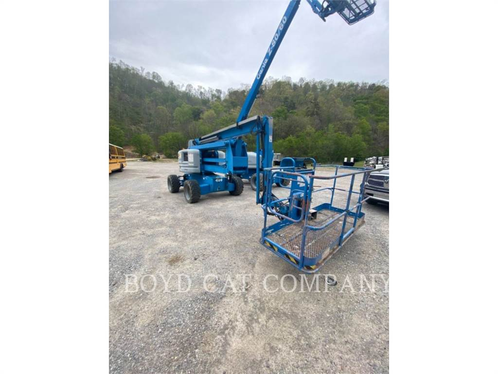 Genie Z60/34RTDS G84, Articulated boom lifts, Construction