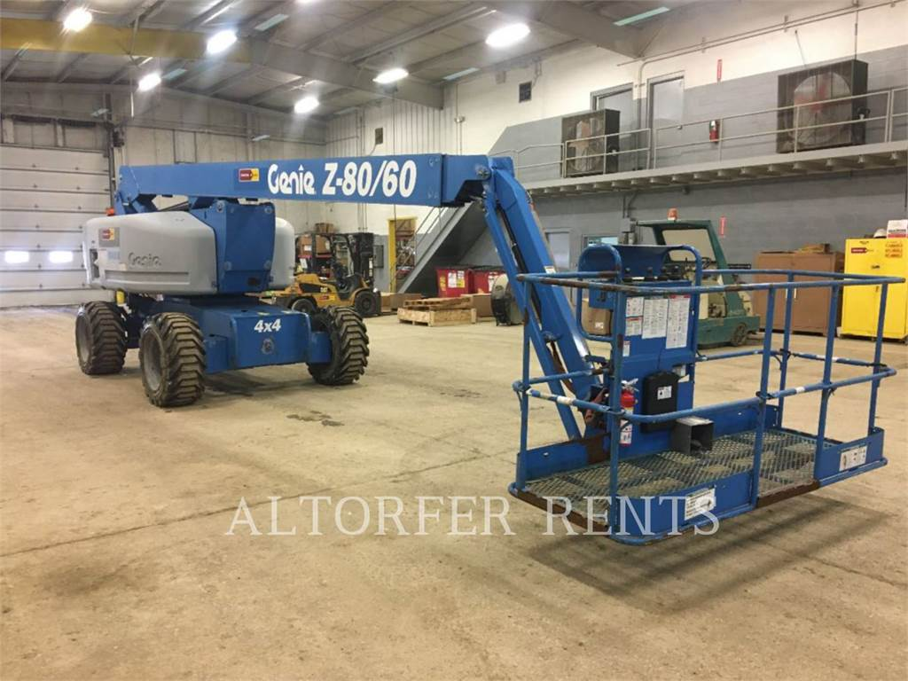 Genie Z80, Articulated boom lifts, Construction