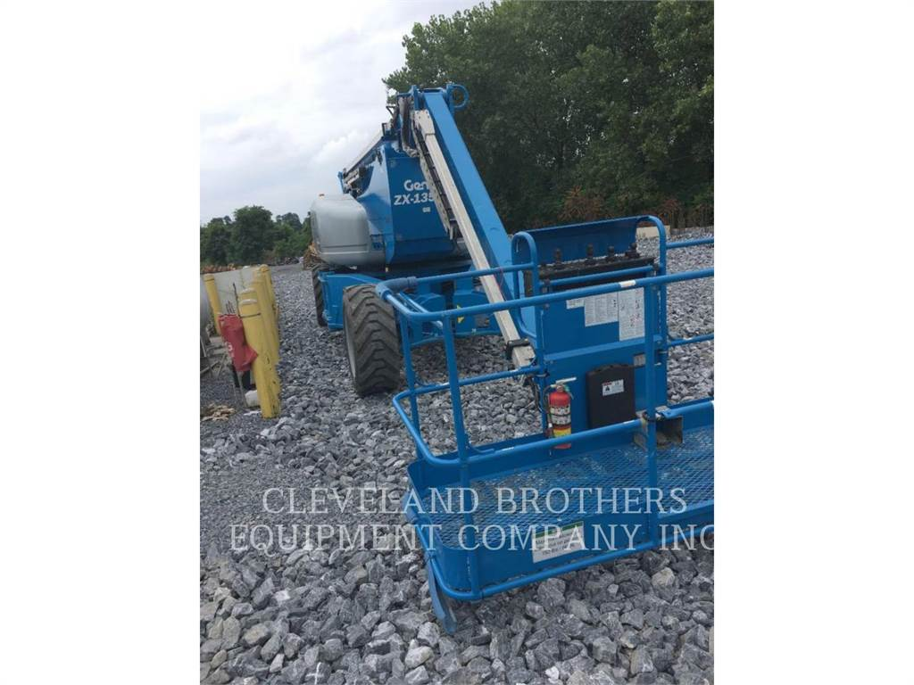 Genie ZX135-70, Articulated boom lifts, Construction