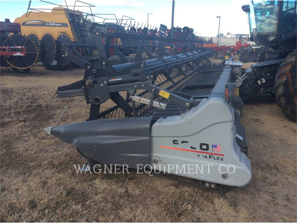 Gleaner 9250, Cabezales de cosechadoras combinadas, Agricultura