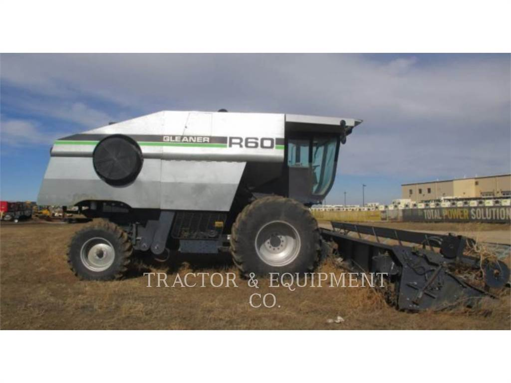 Gleaner R60, combinados, Agricultura