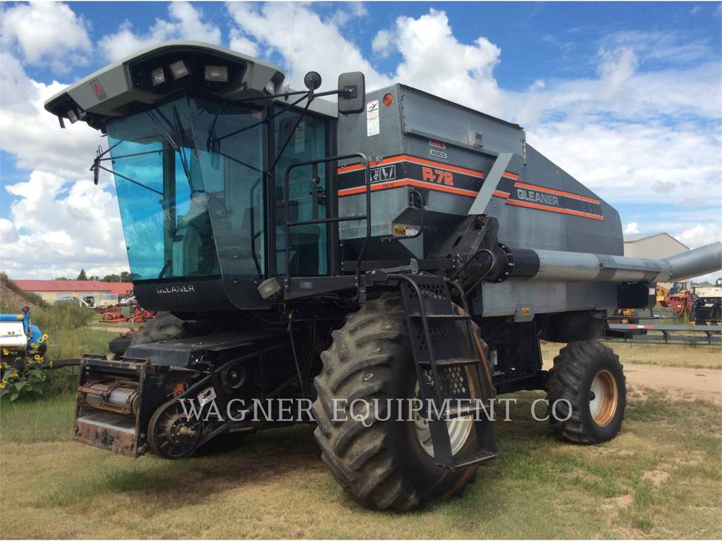 Gleaner R72, combinados, Agricultura
