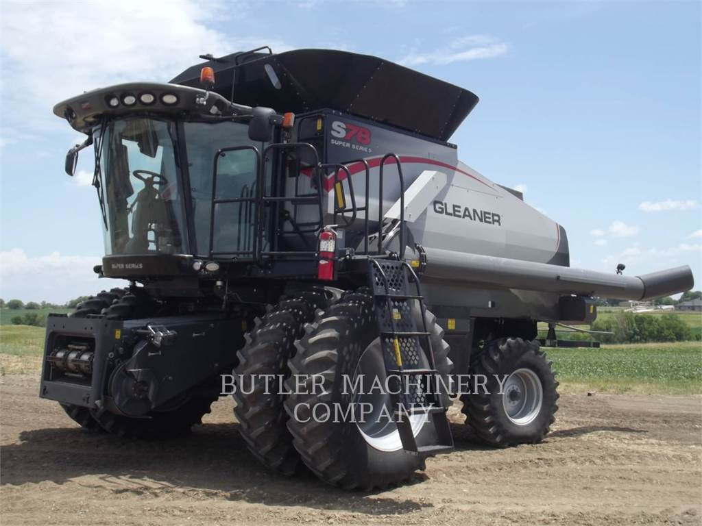Gleaner S78, combinados, Agricultura