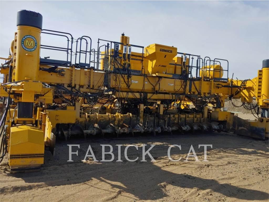 Gomaco GHP-2800, Asfaltafwerkmachines, Bouw
