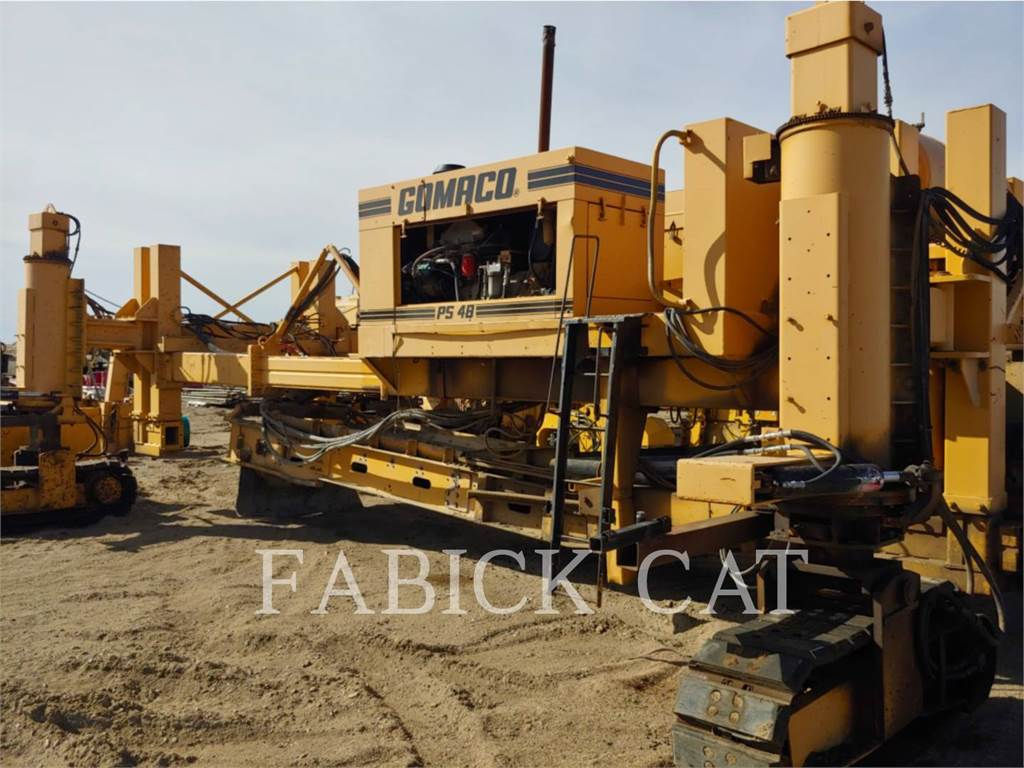 Gomaco PS48, concrete equipment, Construction