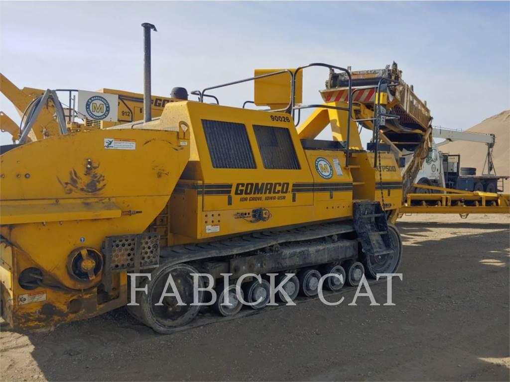 Gomaco RTP-500, Strassenfertiger, Bau-Und Bergbauausrüstung