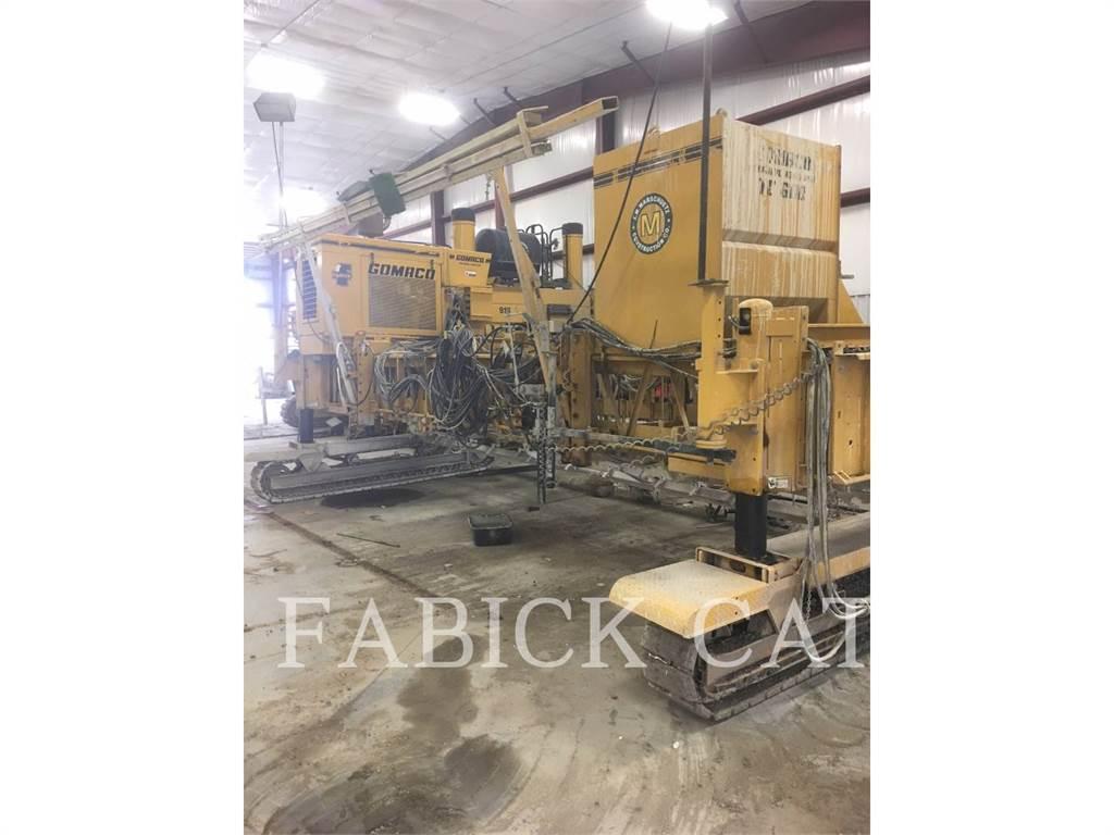 Gomaco TC600, Finisseur, Équipement De Construction