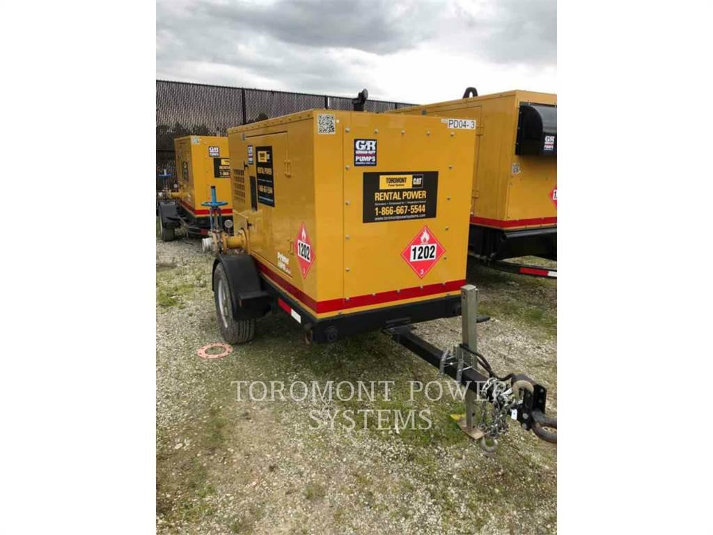Gorman-Rupp PA4A60ESP、ウォーターポンプ、建設