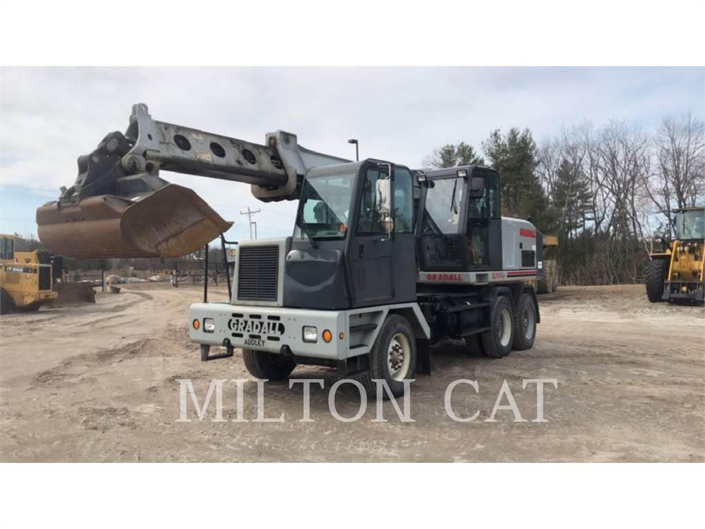 Gradall XL5100, wheel excavator, Construction