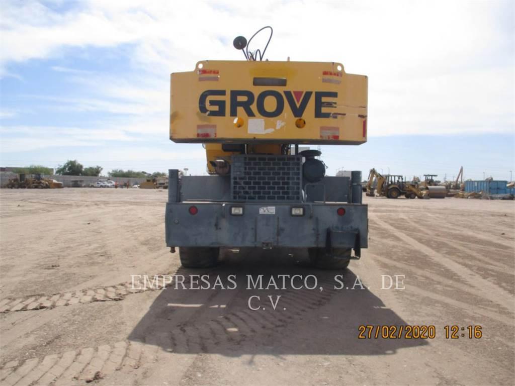 Grove RT600E, cranes, Construction
