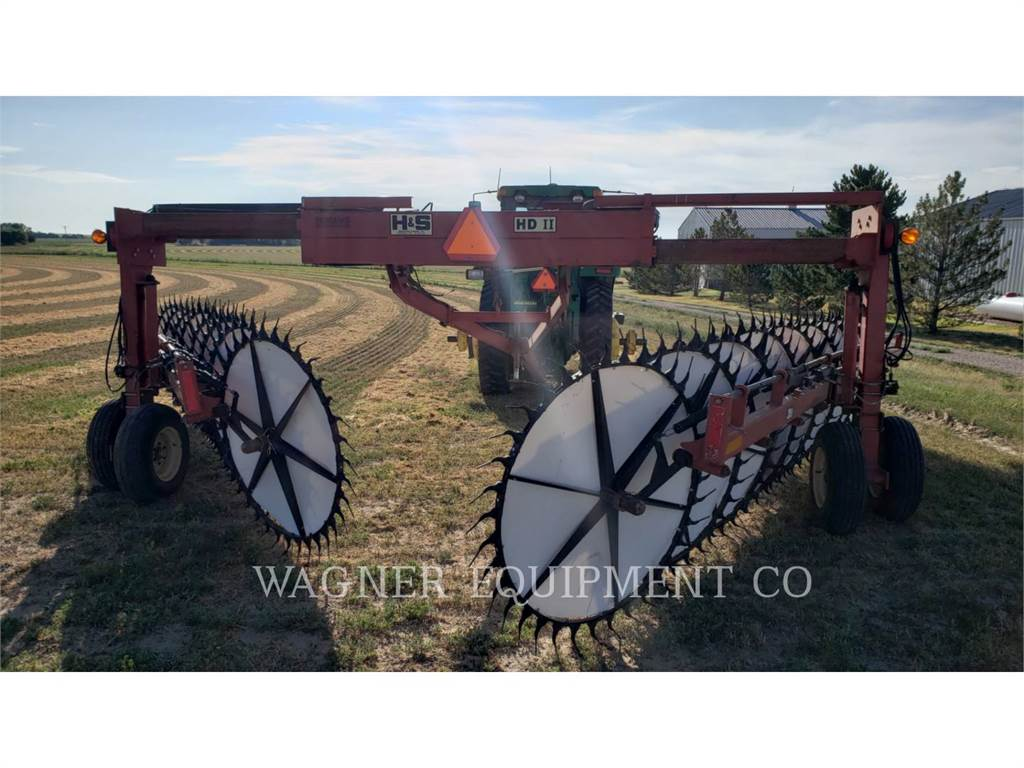 H&S MANUFACTURING CO. HD II, rake, Agriculture
