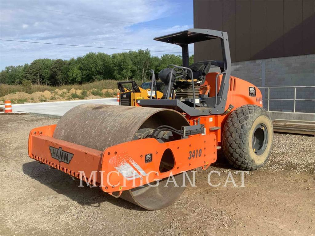 Hamm 3410, Single drum rollers, Construction