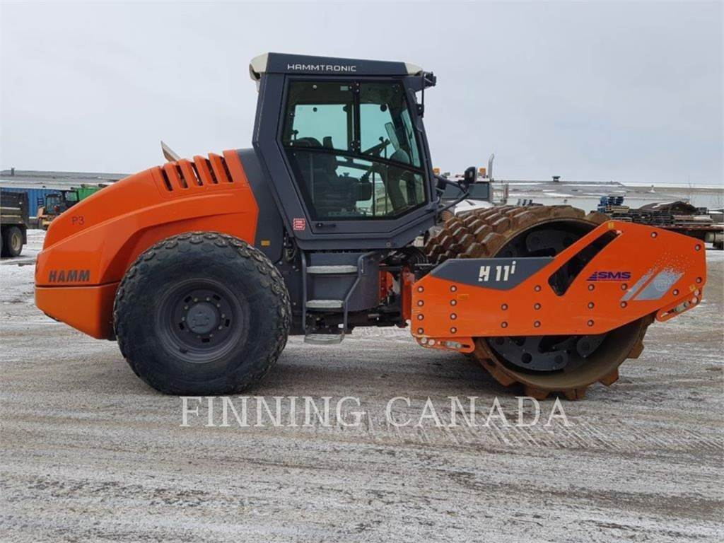 Hamm H 11I, Single drum rollers, Construction