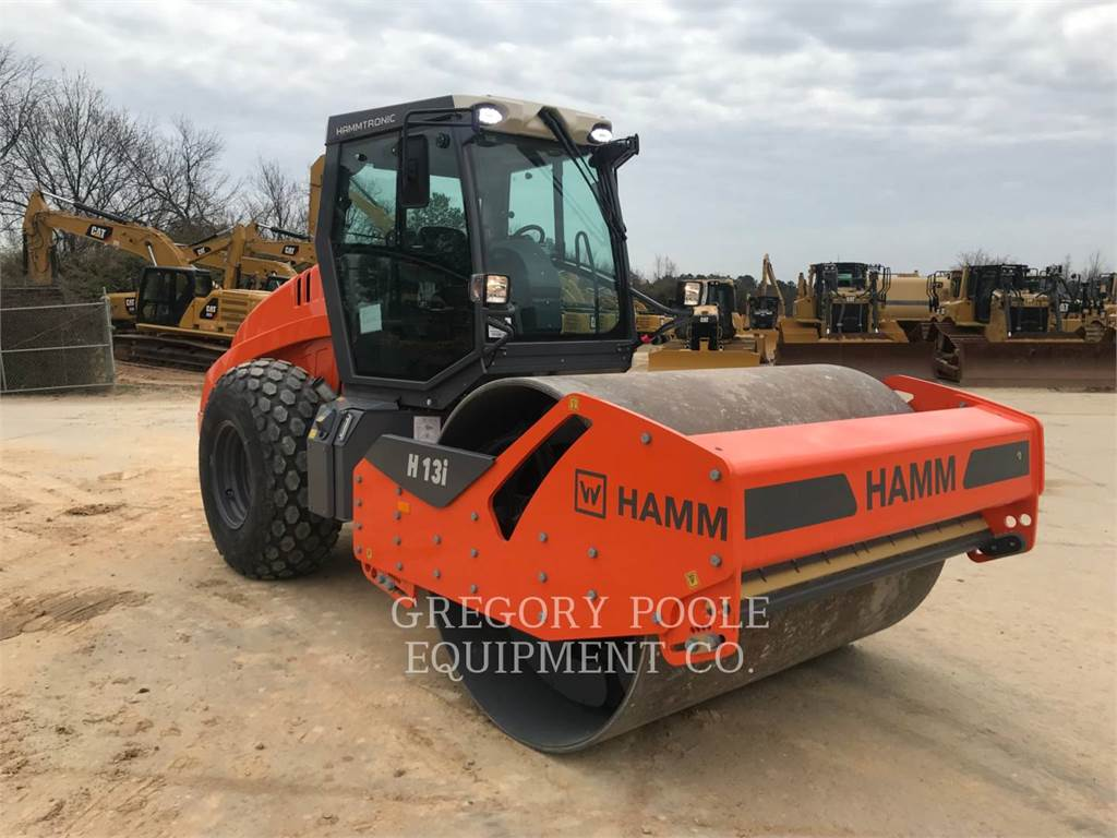 Hamm H13I, Single drum rollers, Construction