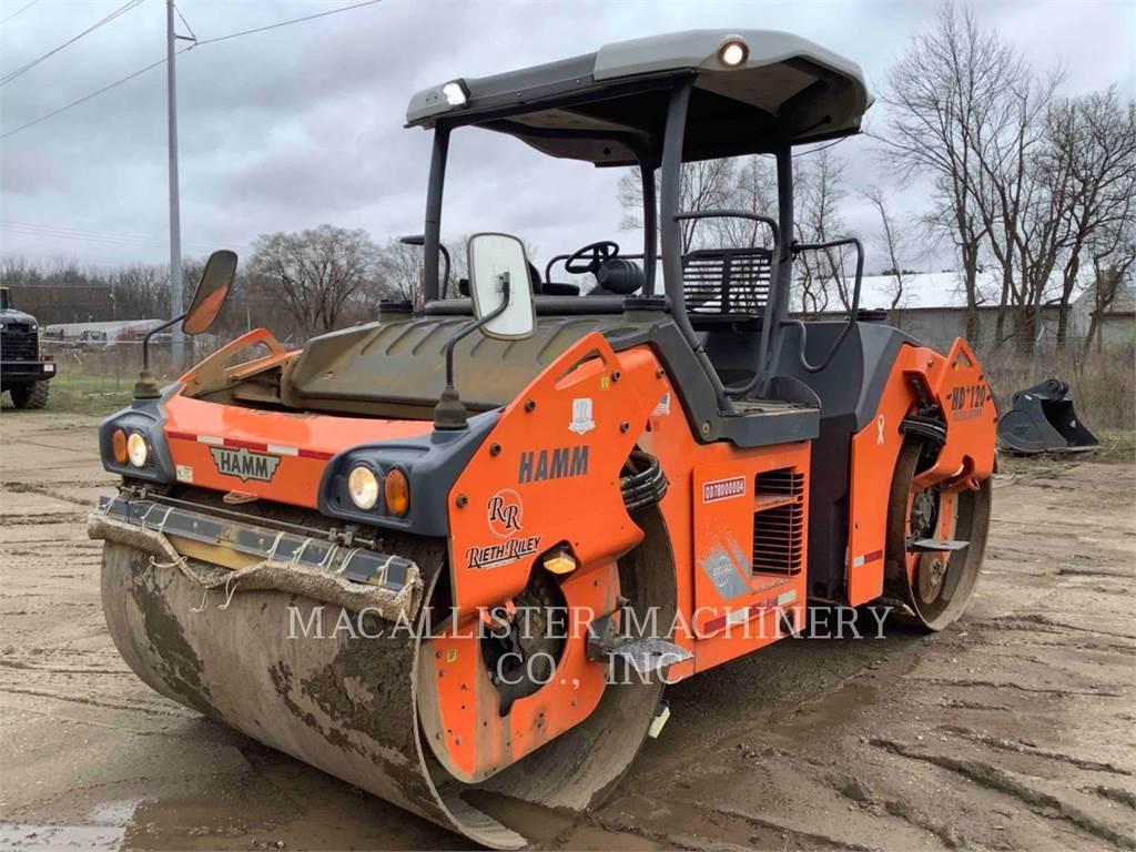 Hamm HD+120, Tandemwalzen, Bau-Und Bergbauausrüstung
