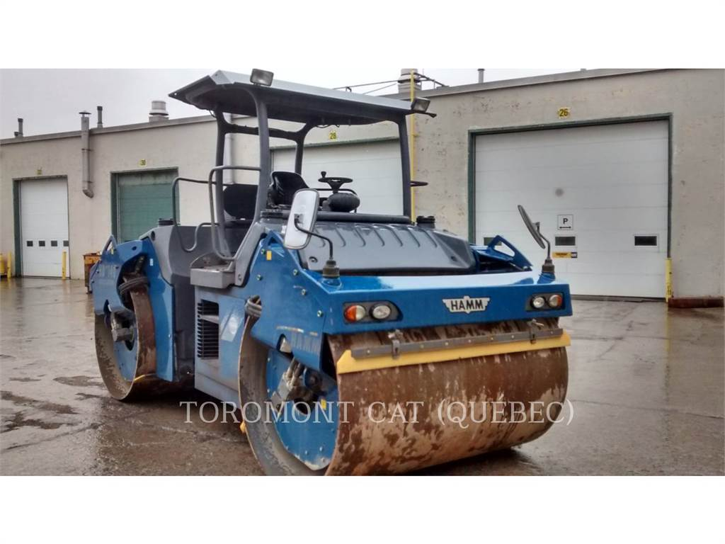 Hamm HD140, Compactors, Construction