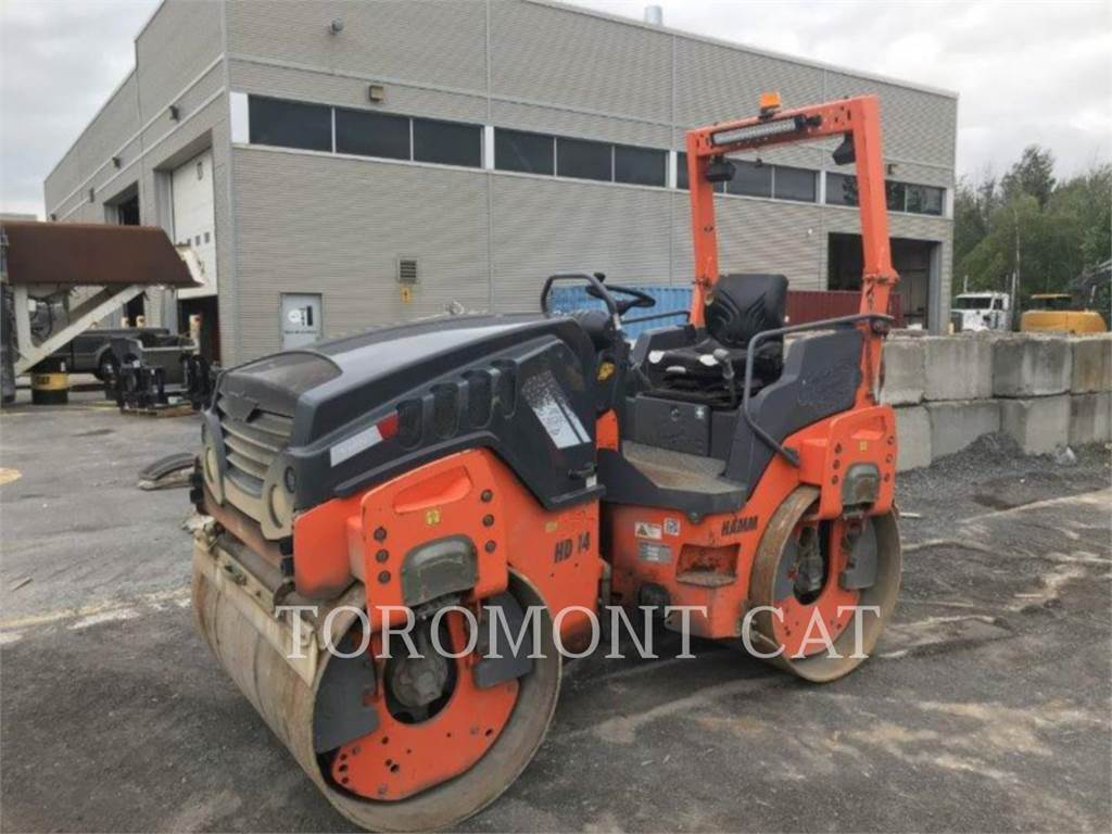 Hamm HD14V, Compactors, Construction