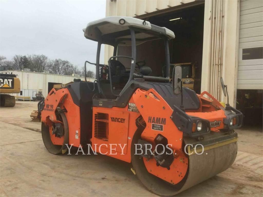 Hamm HD90, Compactors, Construction
