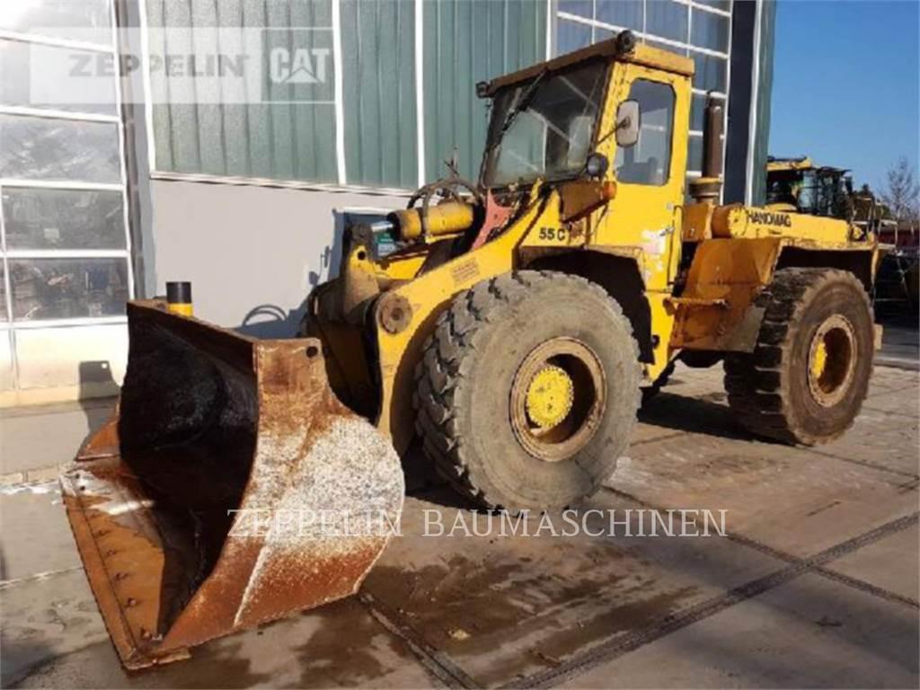 Hanomag (KOMATSU) 55C, Wheel Loaders, Construction