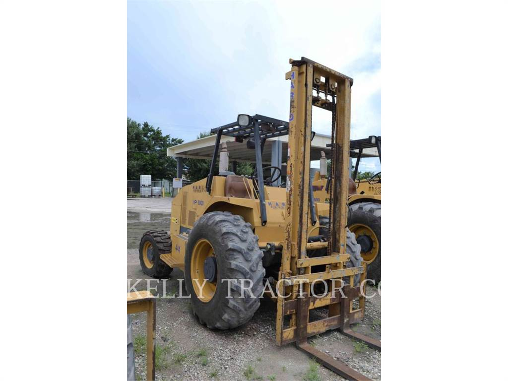 Harlo PRODUCTS CORP HP5000, Carretillas diesel, Almacenaje