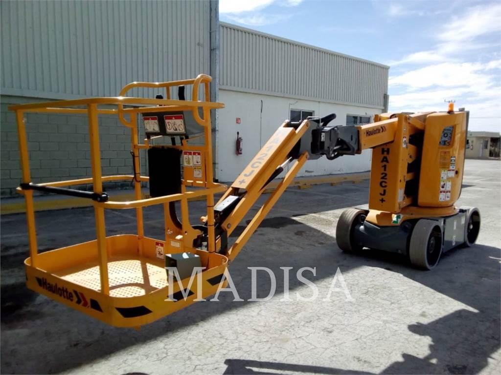 Haulotte HA12 CJ, Plataforma de trabajo articulada, Construcción