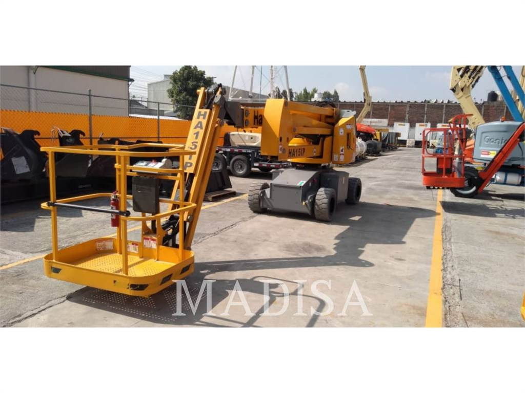 Haulotte HA15IP, Articulated boom lifts, Construction