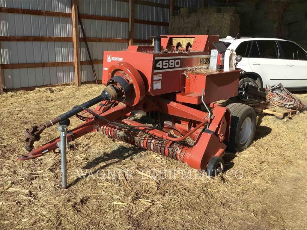 Hesston 4590, hay equipment, Agriculture