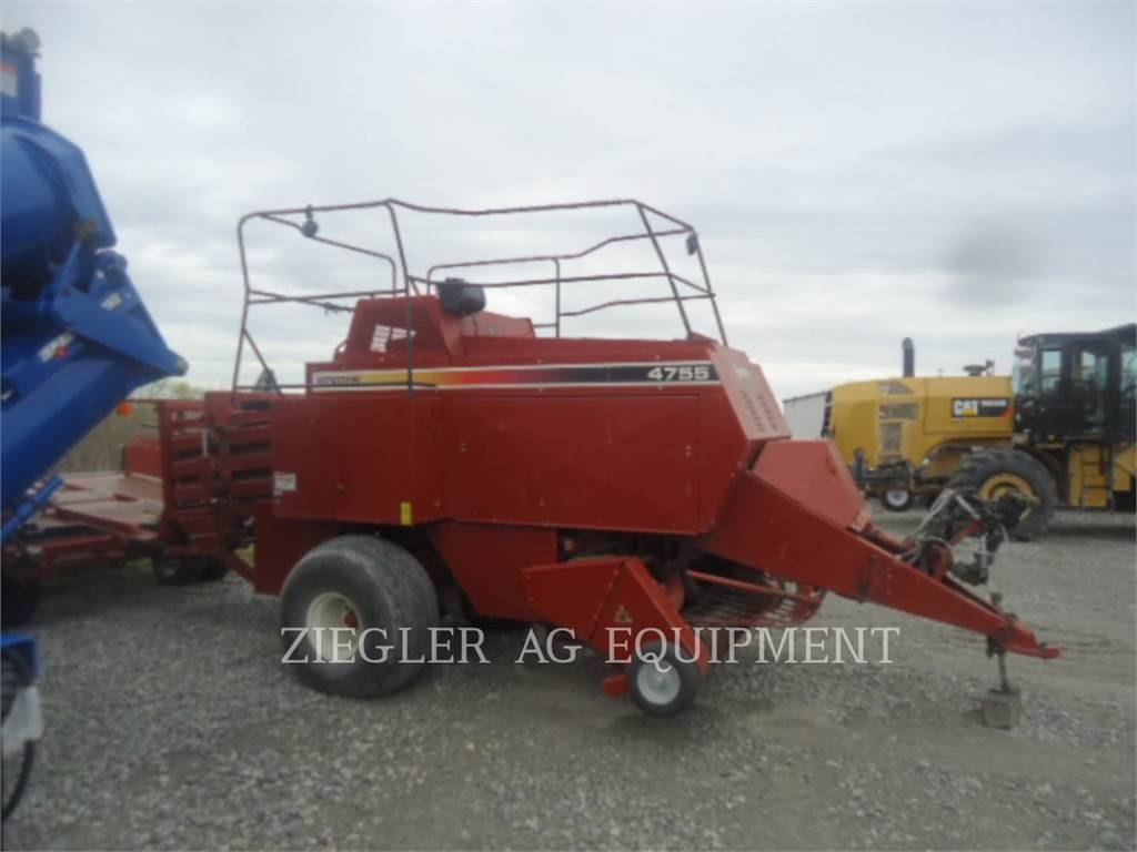 Hesston 4755 WITH 4720 ACCUMULATOR, hay equipment, Agriculture