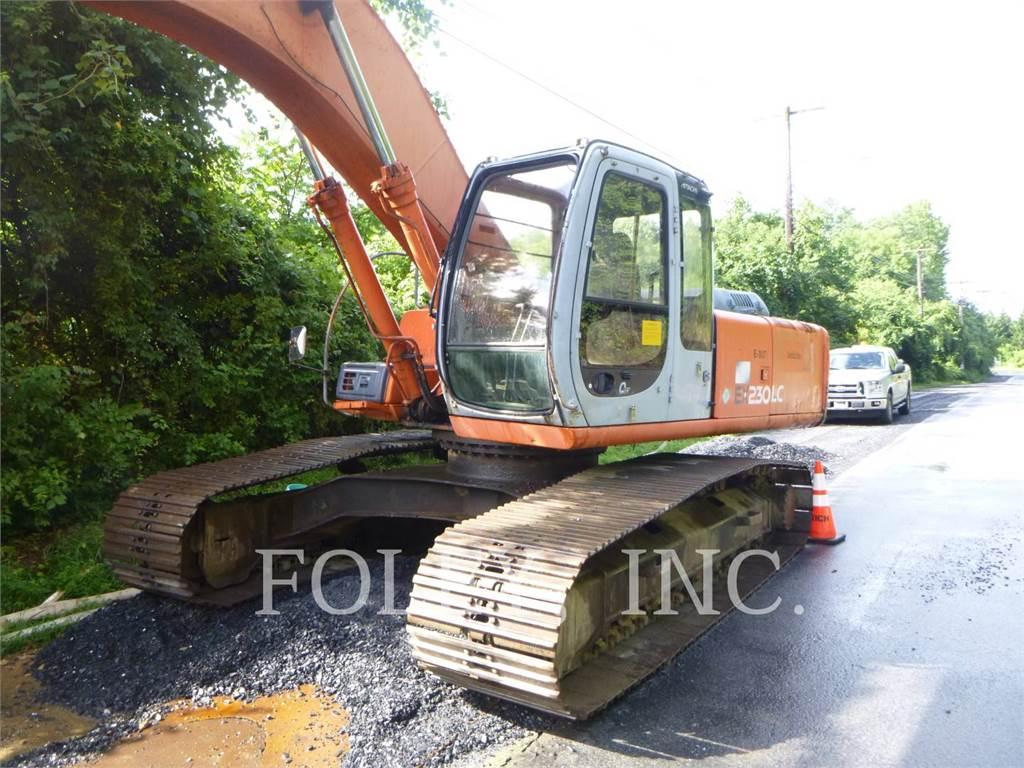 Hitachi EX230LC 5, Escavadoras de rastos, Equipamentos Construção