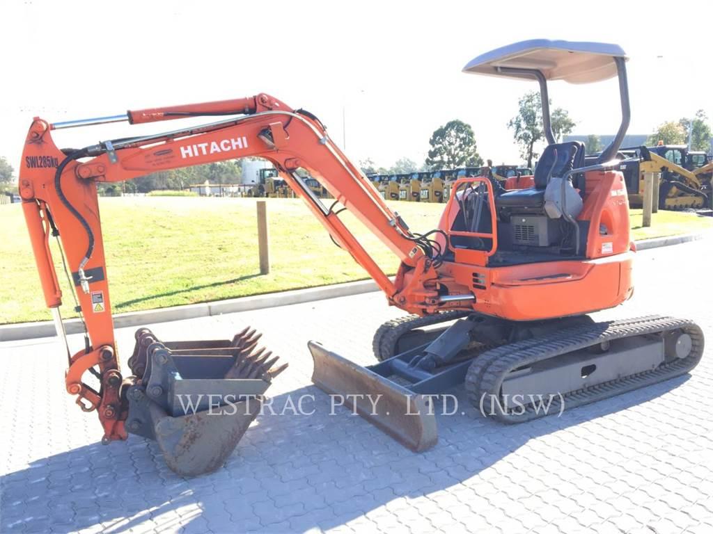 Hitachi EX30U, Crawler Excavators, Construction