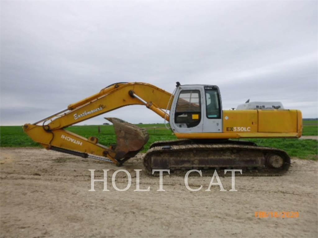 Hitachi EX330LC, Crawler Excavators, Construction