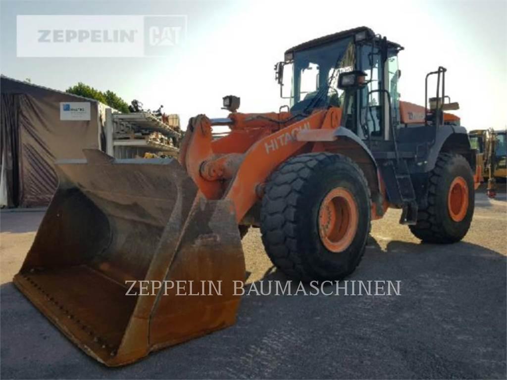 Hitachi ZW250, Wheel Loaders, Construction