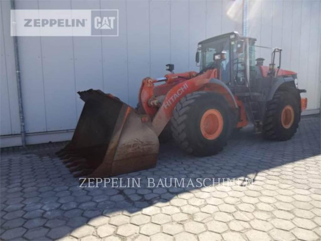 Hitachi ZW310, Wheel Loaders, Construction