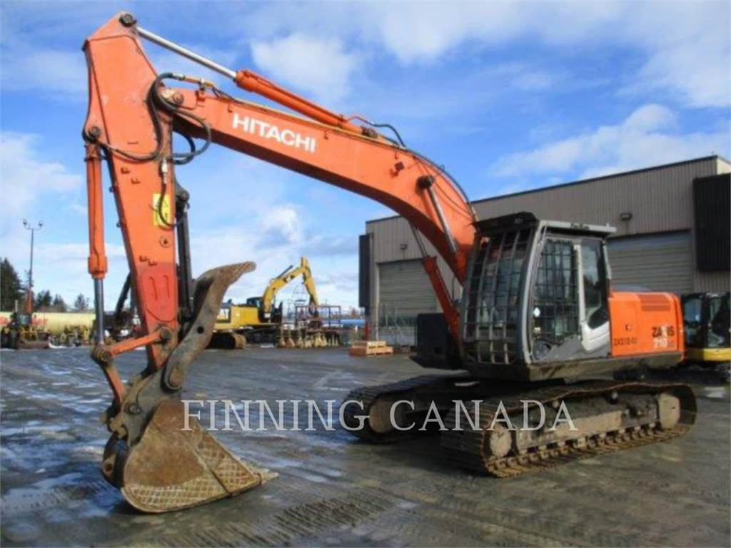 Hitachi ZX 210 LC-3, Crawler Excavators, Construction