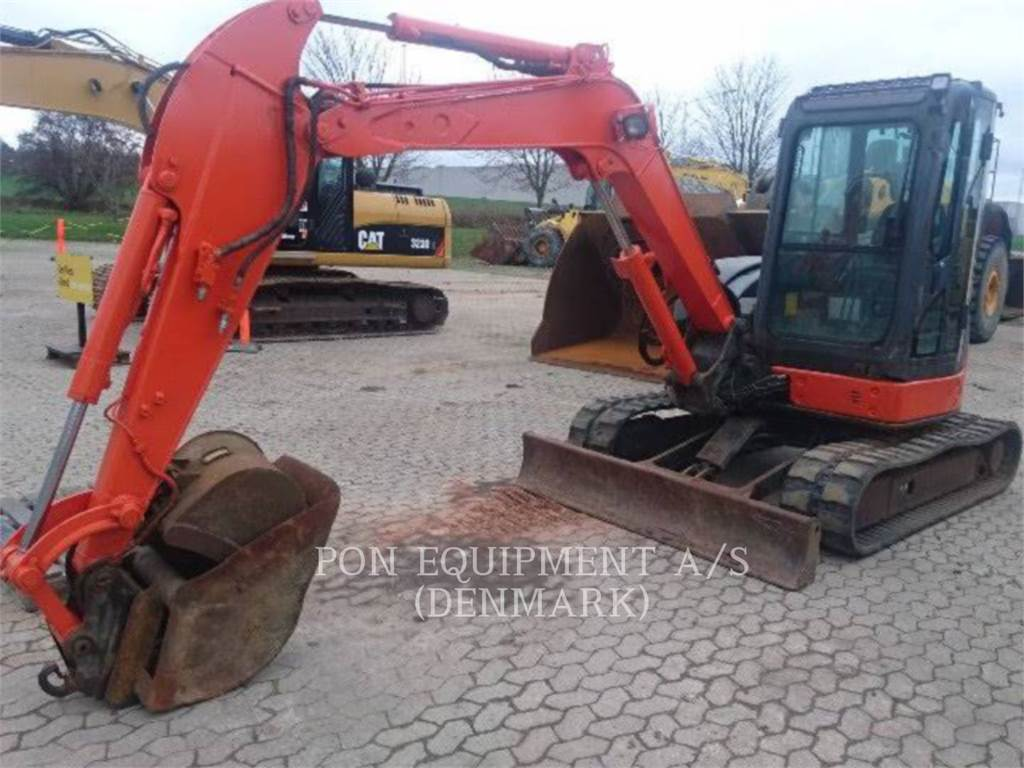 Hitachi ZX 50 U-2, Raupenbagger, Bau-Und Bergbauausrüstung
