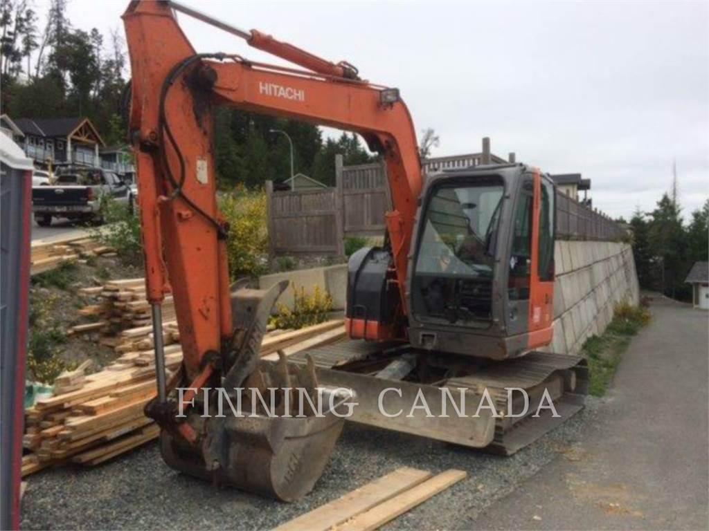 Hitachi ZX 75 US-A, Crawler Excavators, Construction